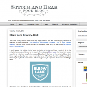 Review by Stitch and Bear