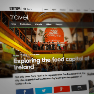 'Exploring the food capital of Ireland'