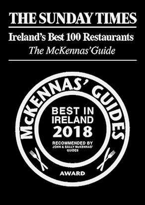 THE MCKENNAS' GUIDES BEST IN IRELAND AWARD